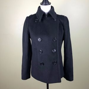 J.Crew Wool Double Breasted Peacoat Small